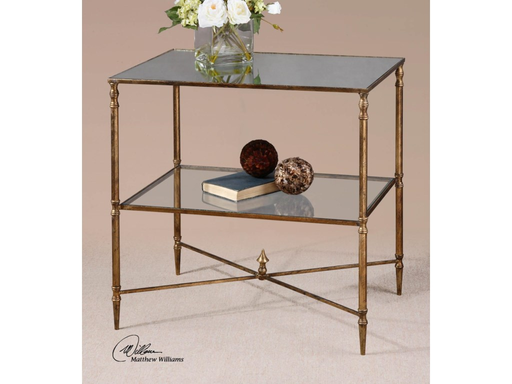 Uttermost Accent Furniture - Occasional TablesHenzler Lamp Table