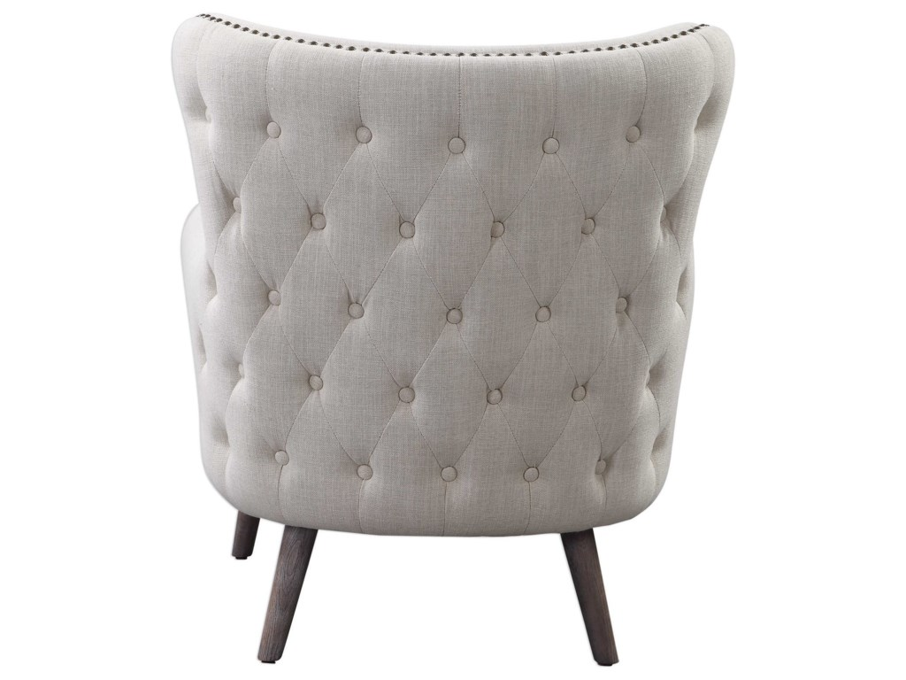 Uttermost Accent Furniture - Accent ChairsDonya Cream Accent Chair