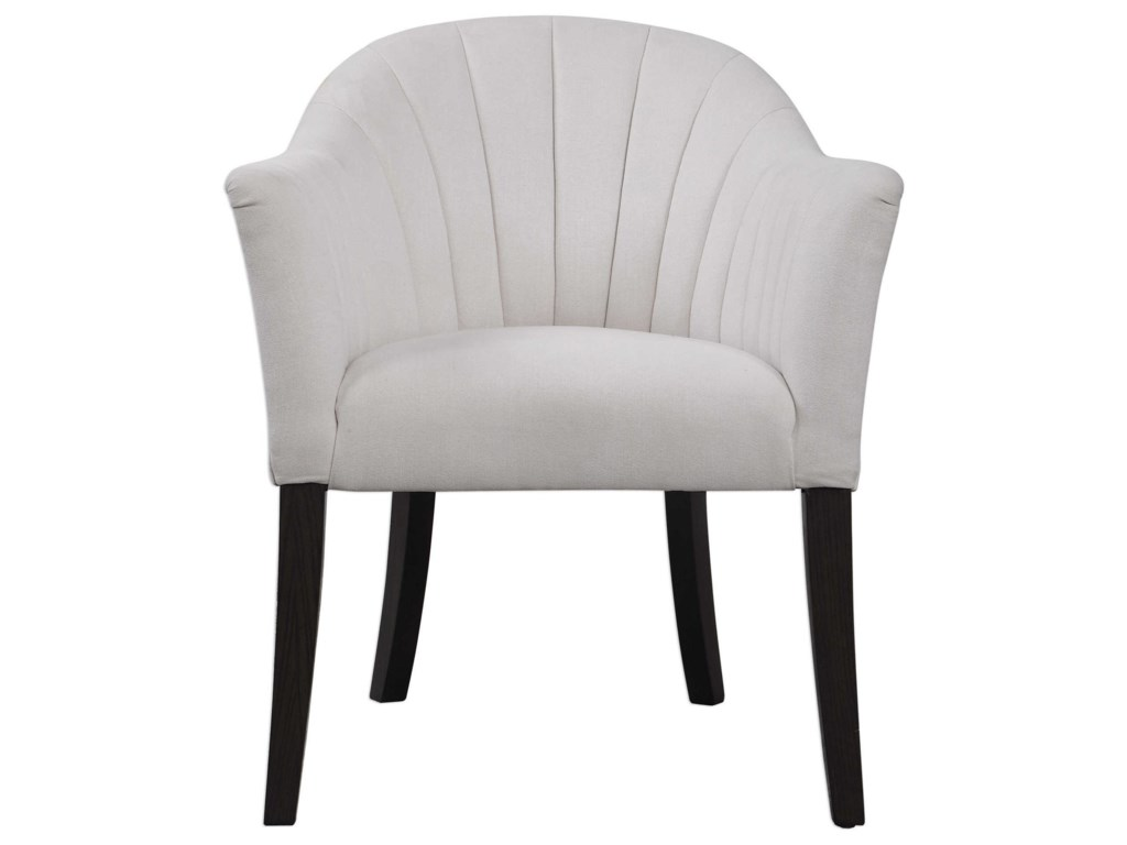 Uttermost Accent Furniture - Accent ChairsLavana Barrel Accent Chair