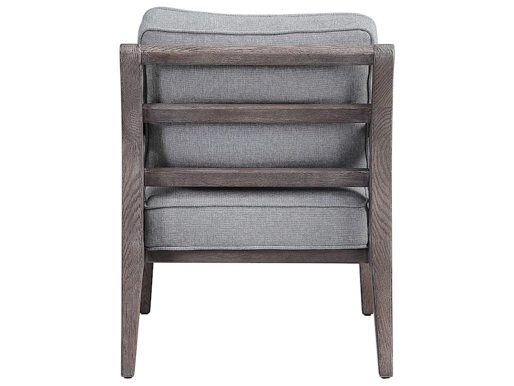 Uttermost Accent Furniture - Accent ChairsJirina Seafoam Accent Chair