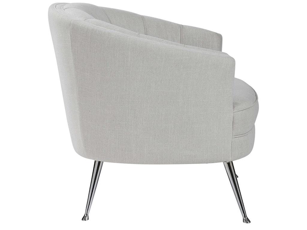 Uttermost Accent Furniture - Accent ChairsJanie Mid-Century Accent Chair