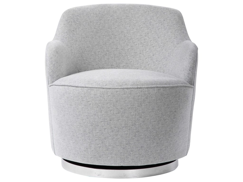 Uttermost Accent Furniture - Accent ChairsHobart Casual Swivel Chair