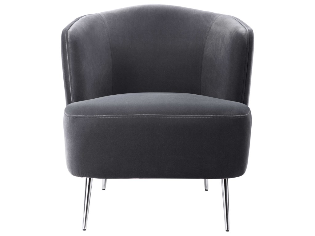Uttermost Accent Furniture - Accent ChairsAlboran Gray Accent Chair