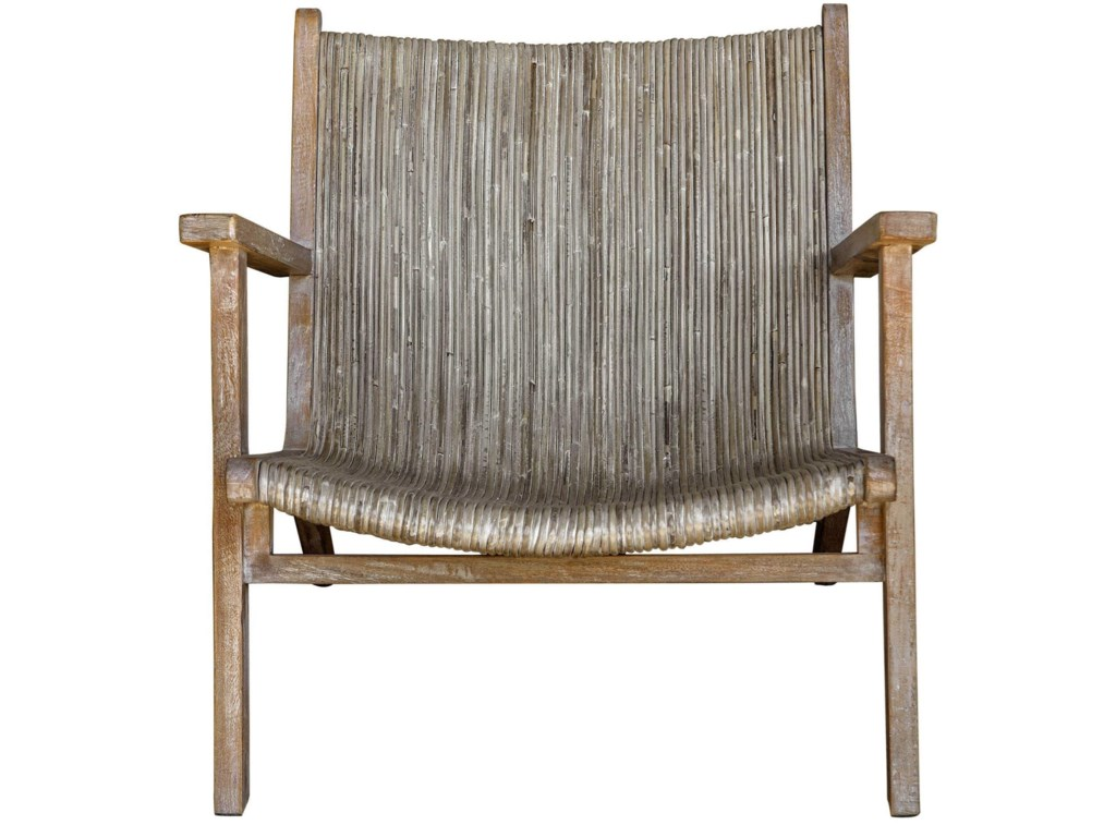 Uttermost Accent Furniture - Accent ChairsAegea Rattan Accent Chair