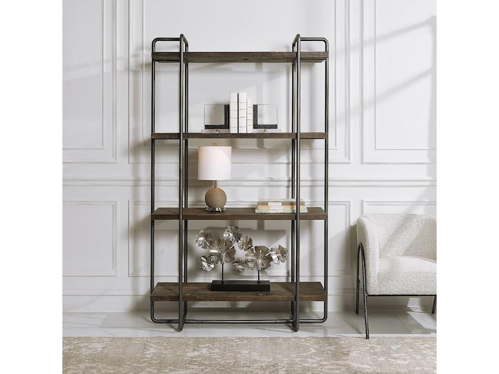 Uttermost Accent Furniture - BookcasesStilo Urban Industrial Etagere