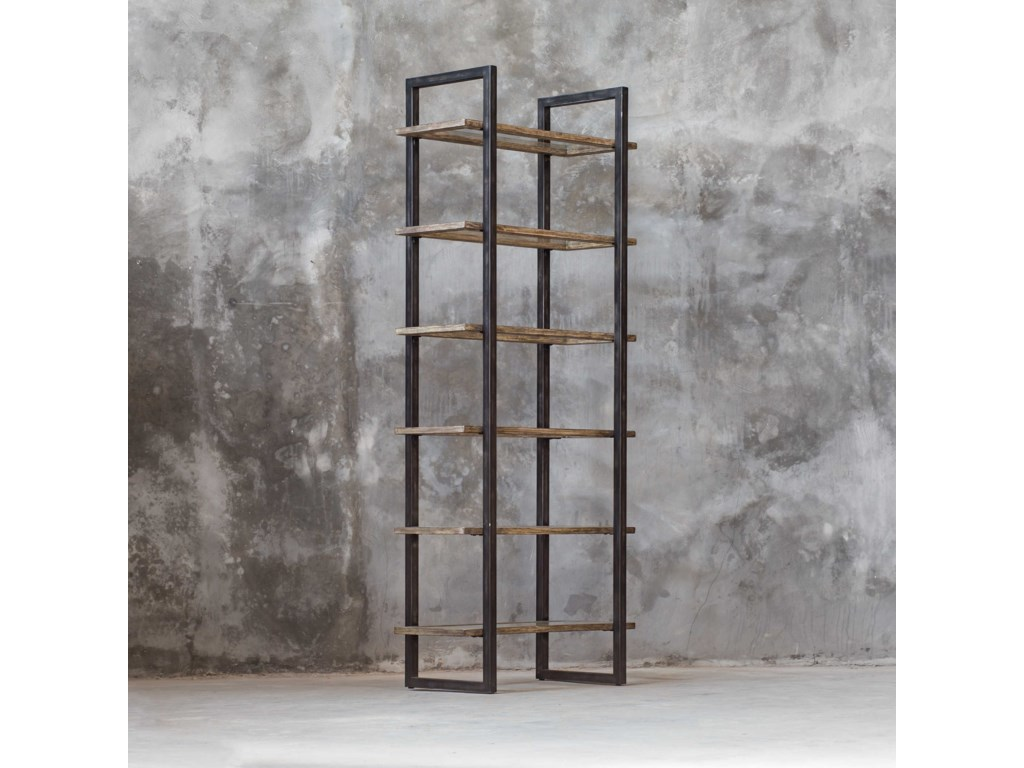 Uttermost Accent Furniture - BookcasesOlwyn Industrial Etagere