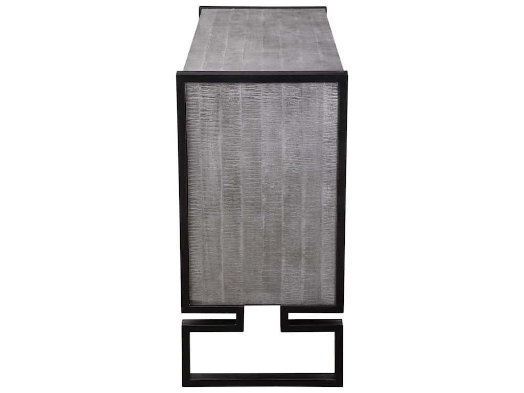Uttermost Accent Furniture - ChestsKeyes 2-Door Gray Cabinet
