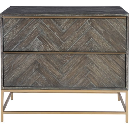 Armistead Dark Walnut Drawer Chest
