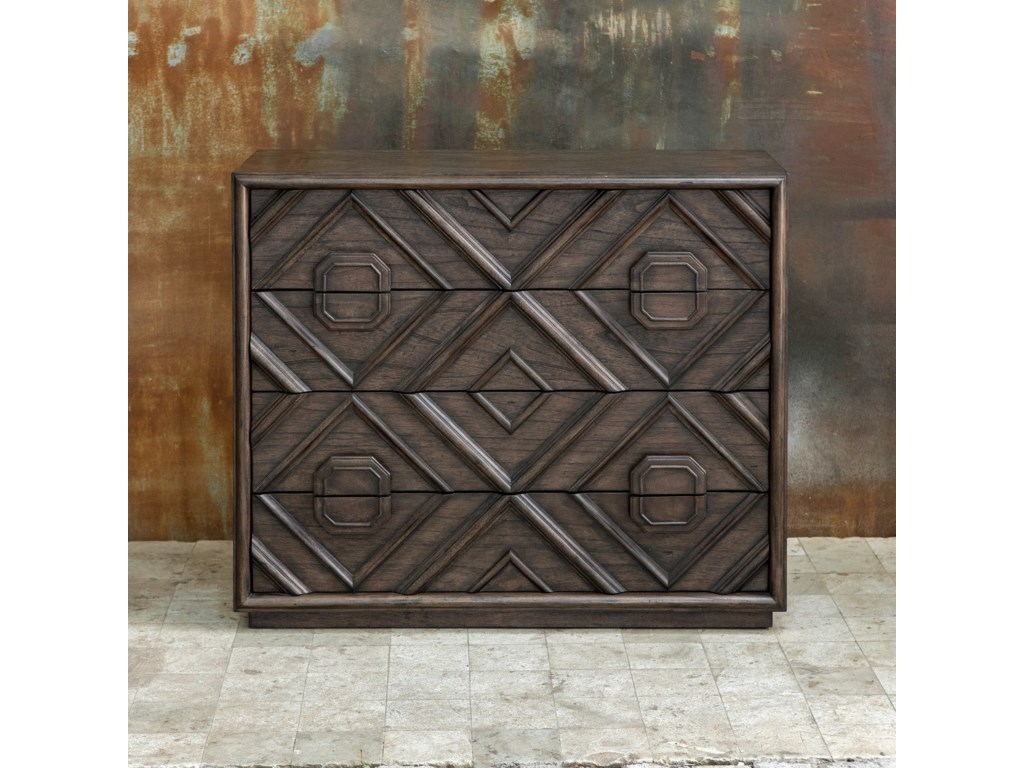 Uttermost Accent Furniture - ChestsMindra Drawer Chest