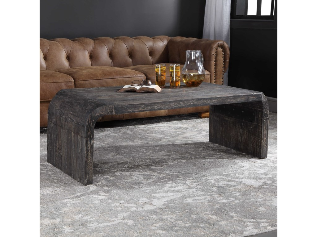 Uttermost Accent Furniture - Occasional TablesElvin Minimalist Coffee Table