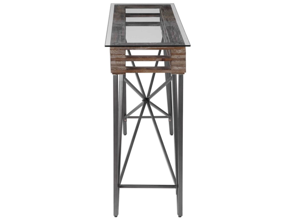 Uttermost Accent Furniture - Occasional TablesRyne Industrial Console Table