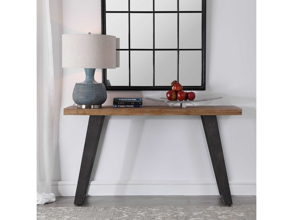 Uttermost Accent Furniture - Occasional TablesFreddy Weathered Console Table