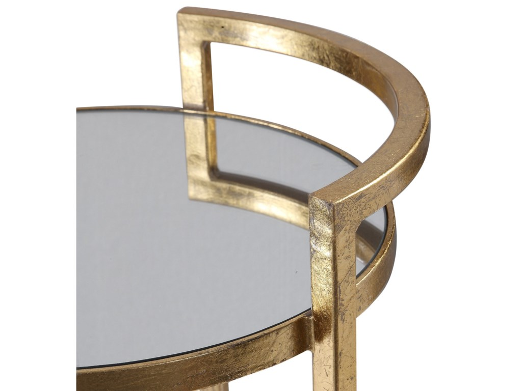 Uttermost Accent Furniture - Occasional TablesCailin Gold Accent Table