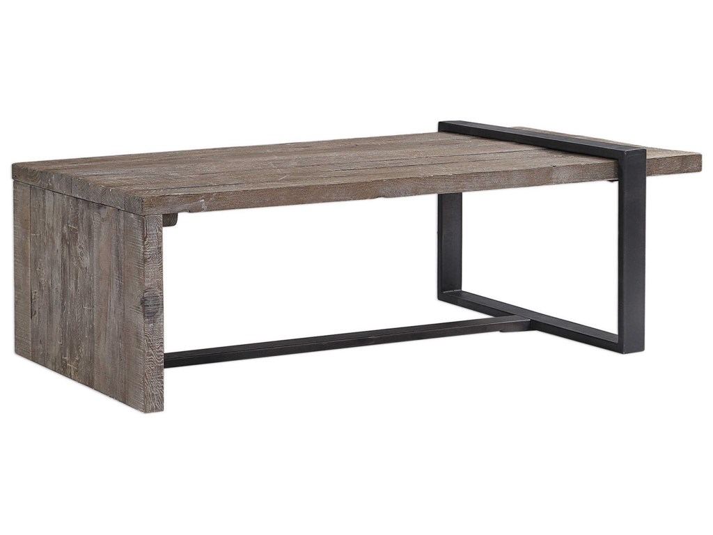 Uttermost Accent Furniture - Occasional TablesGenero Weathered Coffee Table
