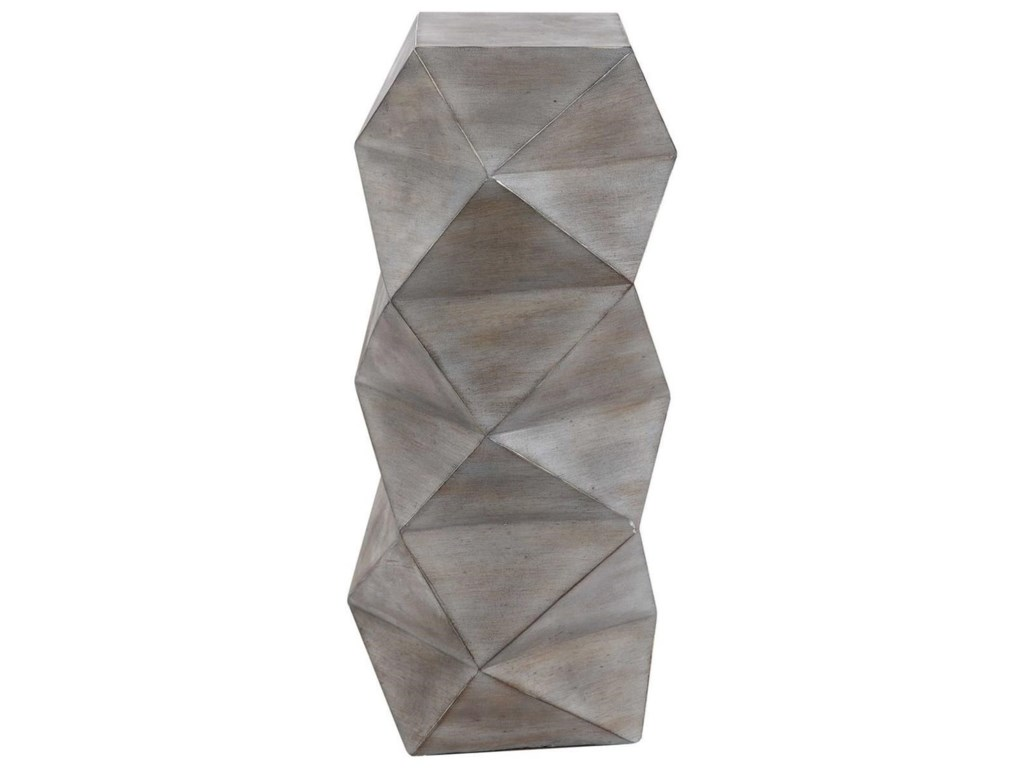 Uttermost Accent Furniture - Occasional TablesRudo Geometric Drink Table