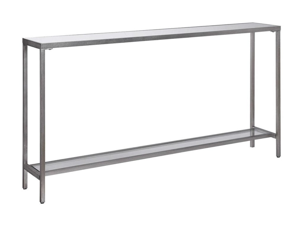 Uttermost Accent Furniture - Occasional TablesHayley Silver Console Table