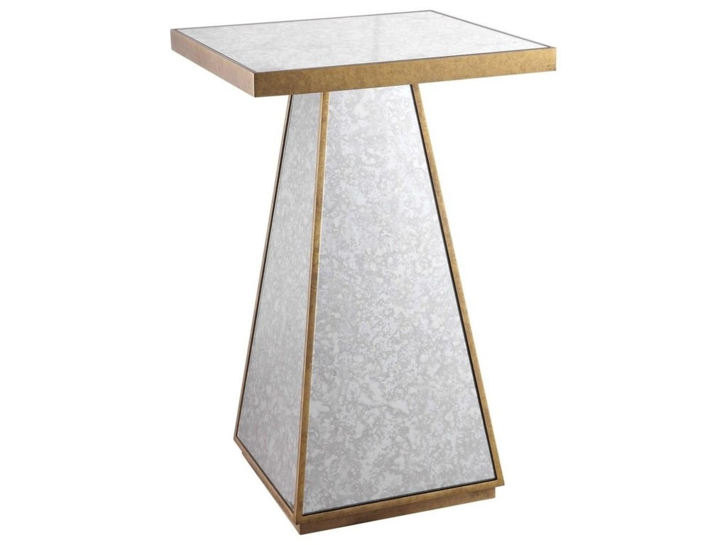 Uttermost Accent Furniture - Occasional TablesAtlee Mirrored Accent Table