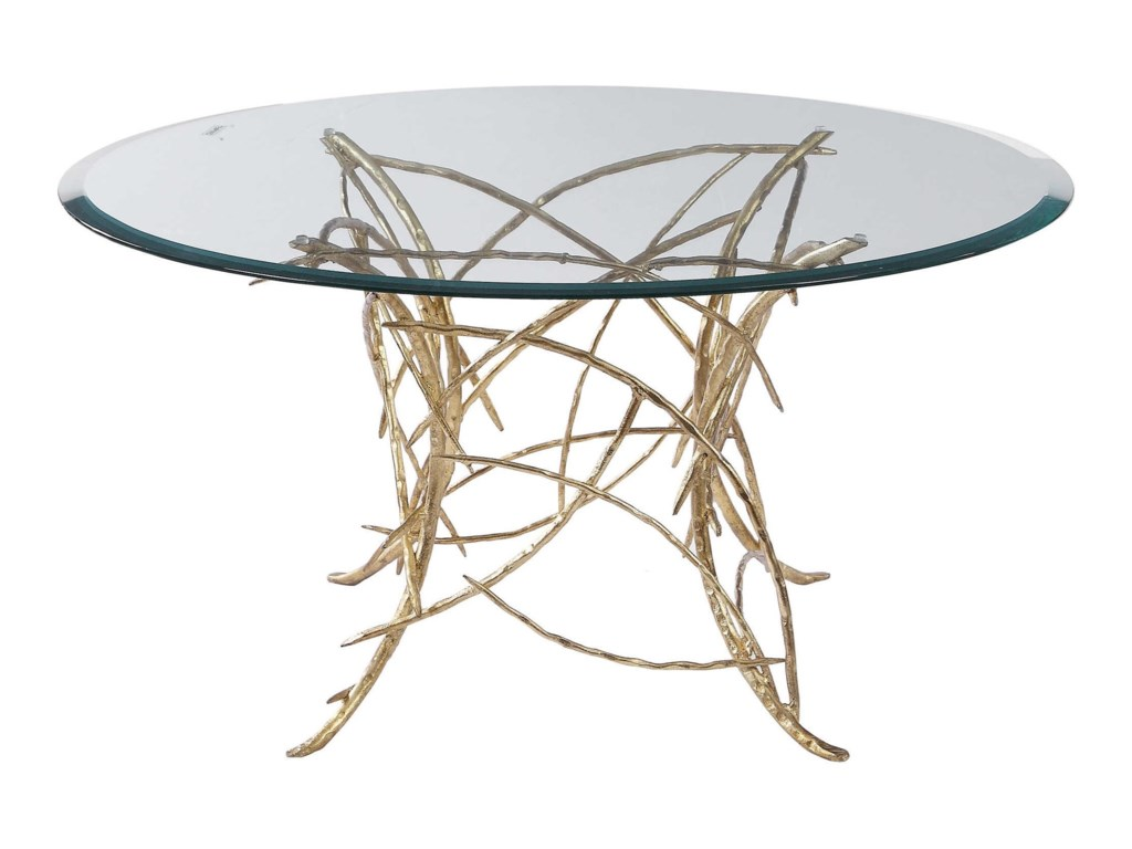Uttermost Accent Furniture - Occasional TablesAmoret Glass Coffee Table