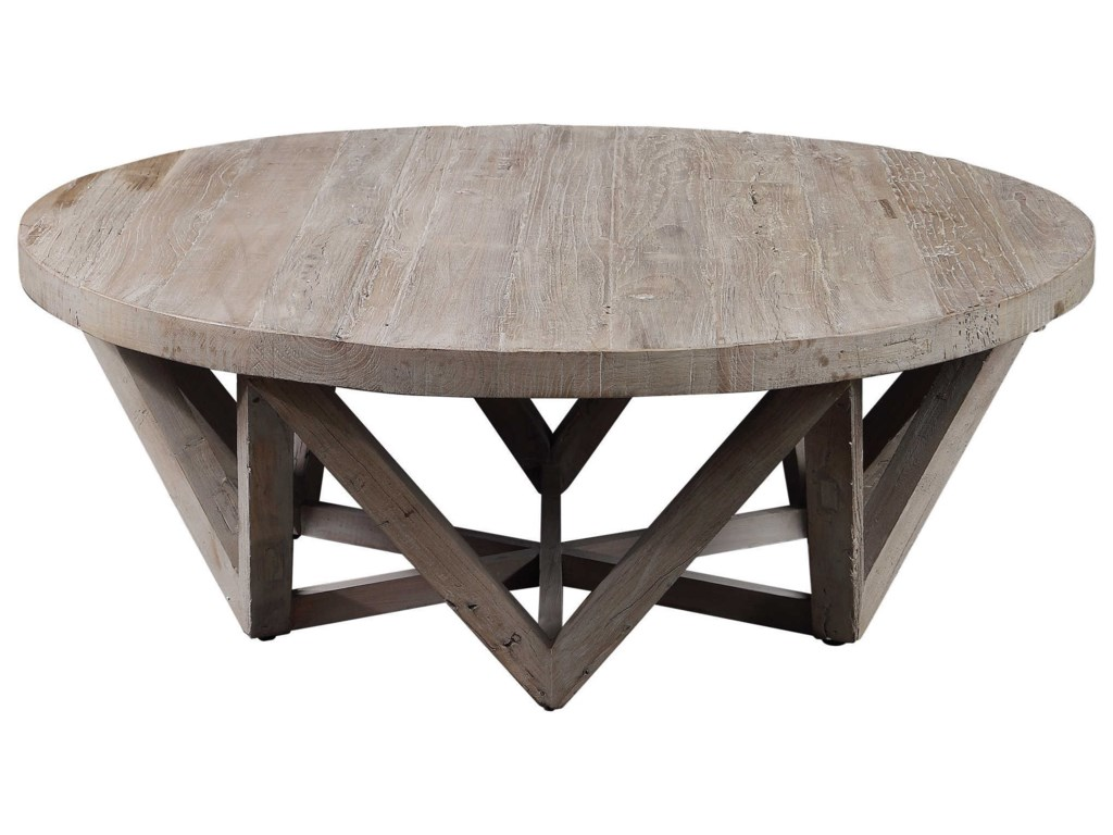 Uttermost Accent Furniture - Occasional TablesKendry Reclaimed Wood Coffee Table