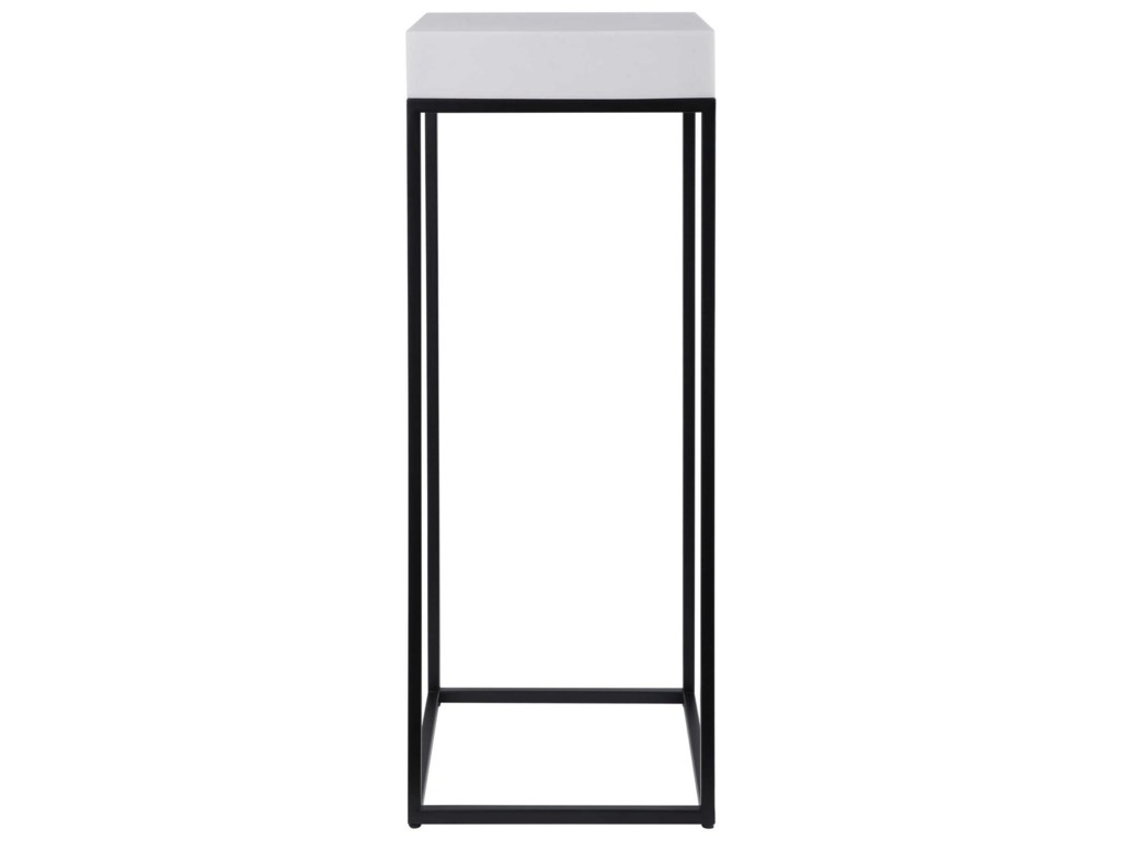 Uttermost Accent Furniture - Occasional TablesGambia Marble Plant Stand