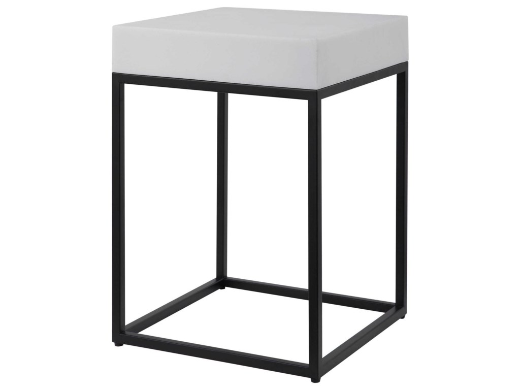 Uttermost Accent Furniture - Occasional TablesGambia Marble Accent Table