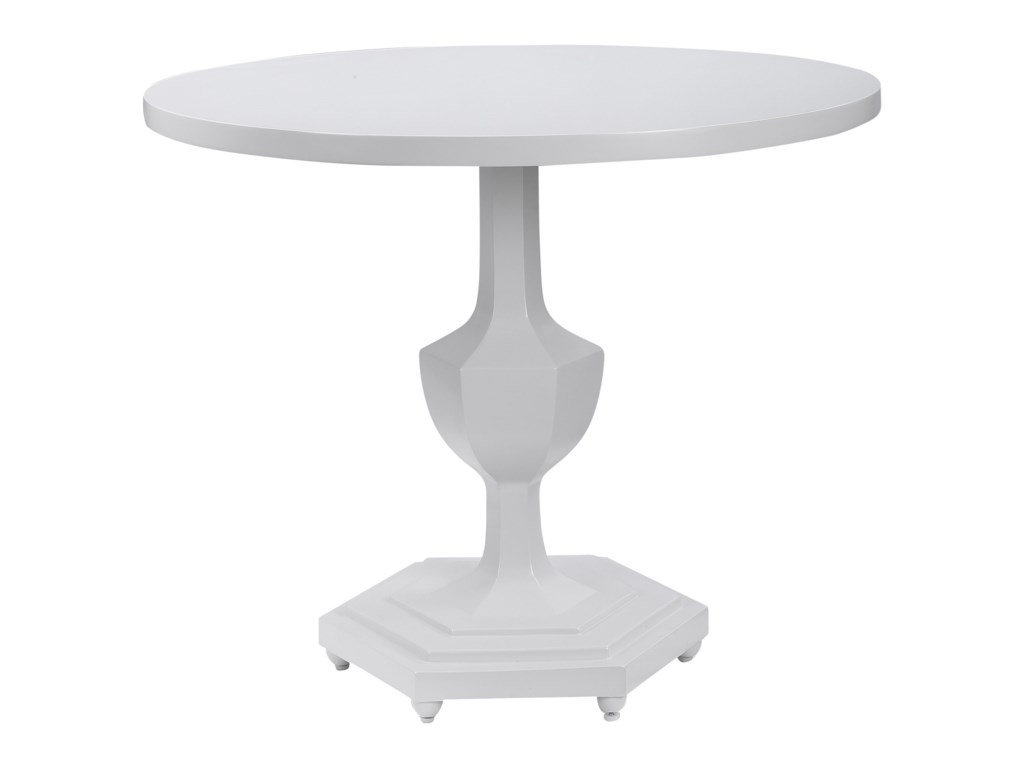 Uttermost Accent Furniture - Occasional TablesKabarda White Foyer Table