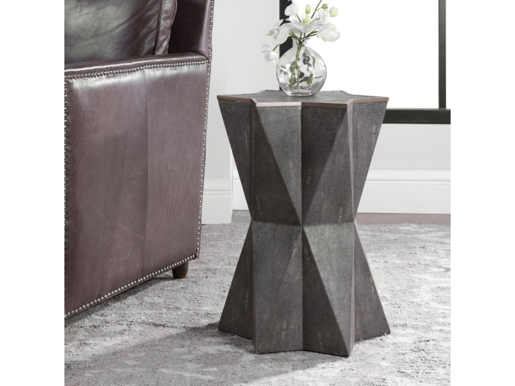 Uttermost Accent Furniture - Occasional TablesCapella Gray Accent Table