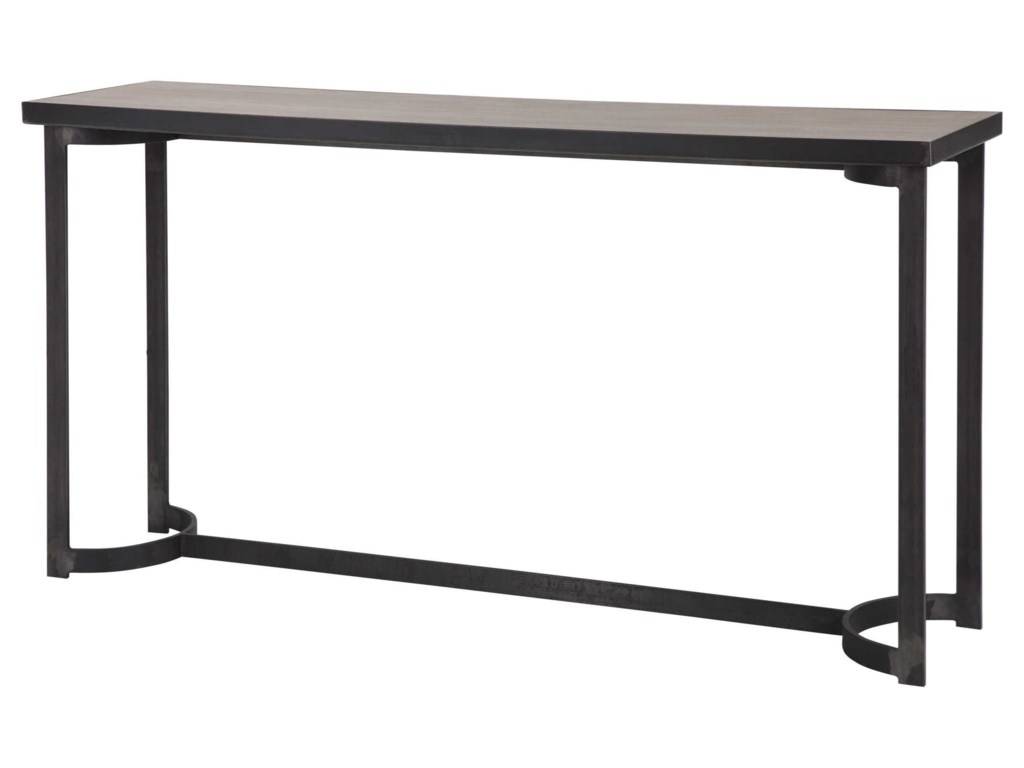Uttermost Accent Furniture - Occasional TablesBasuto Steel Console Table