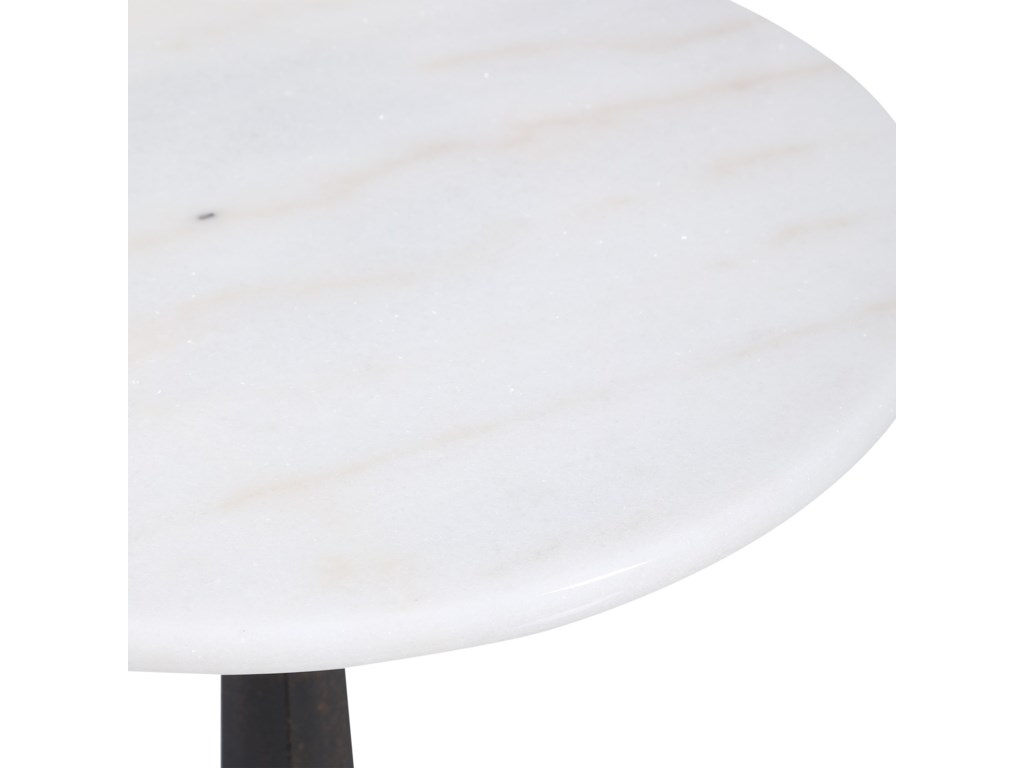 Uttermost Accent Furniture - Occasional TablesCounteract White Accent Table