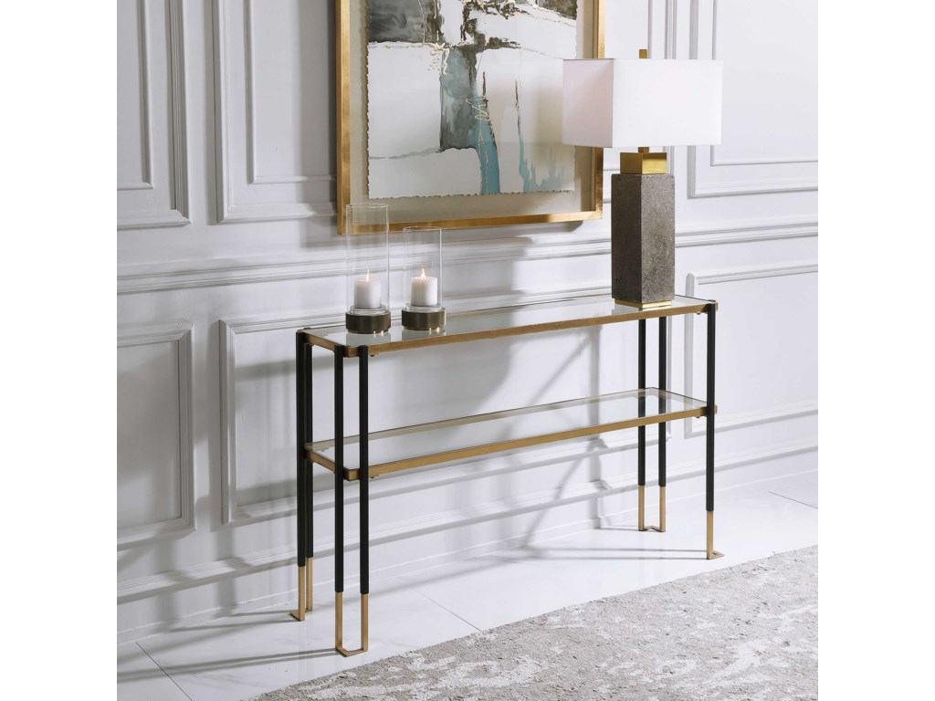 Uttermost Accent Furniture - Occasional TablesModern Console Table