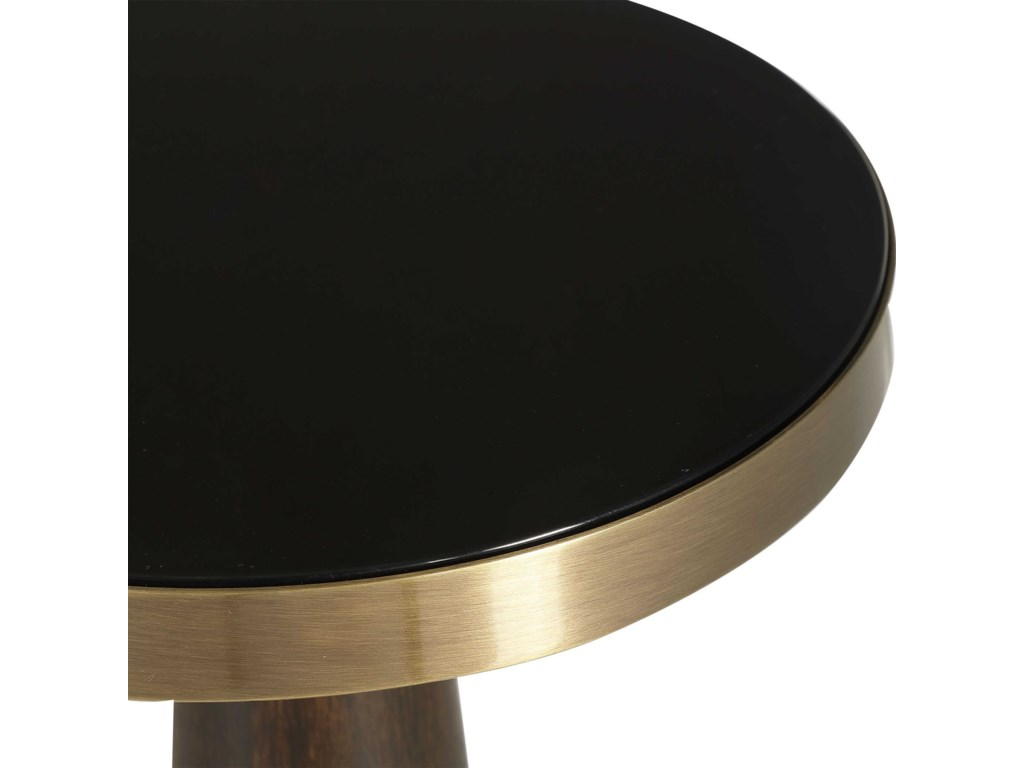Uttermost Accent Furniture - Occasional TablesBlack Accent Table
