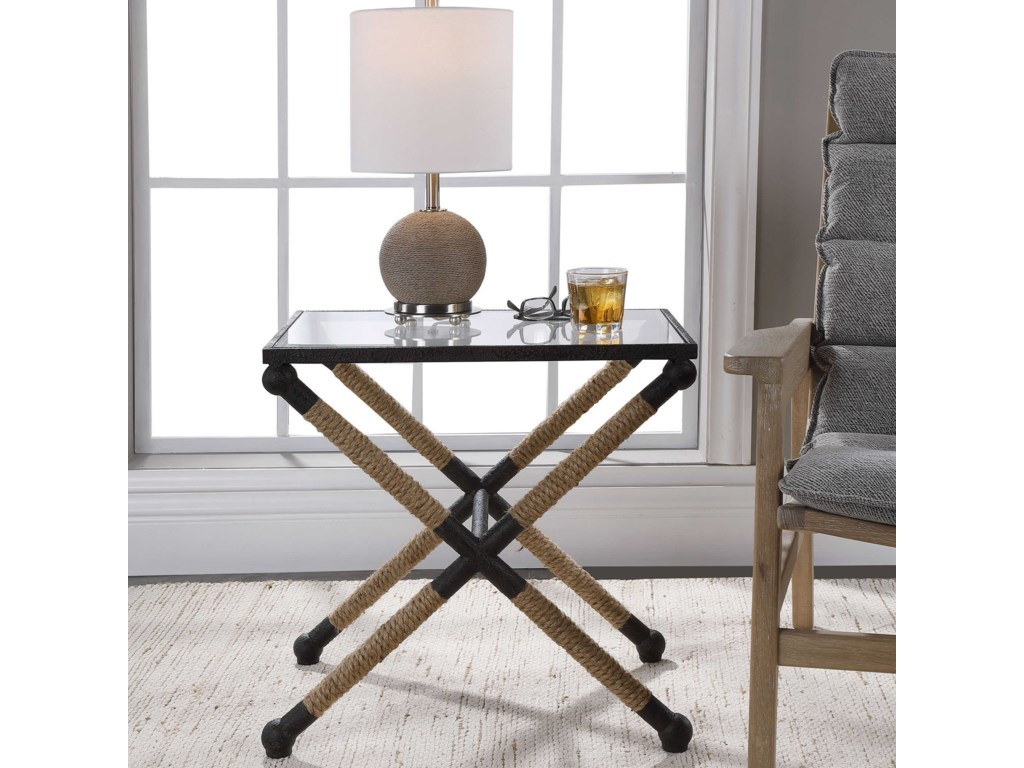 Uttermost Accent Furniture - Occasional TablesCoastal Accent Table