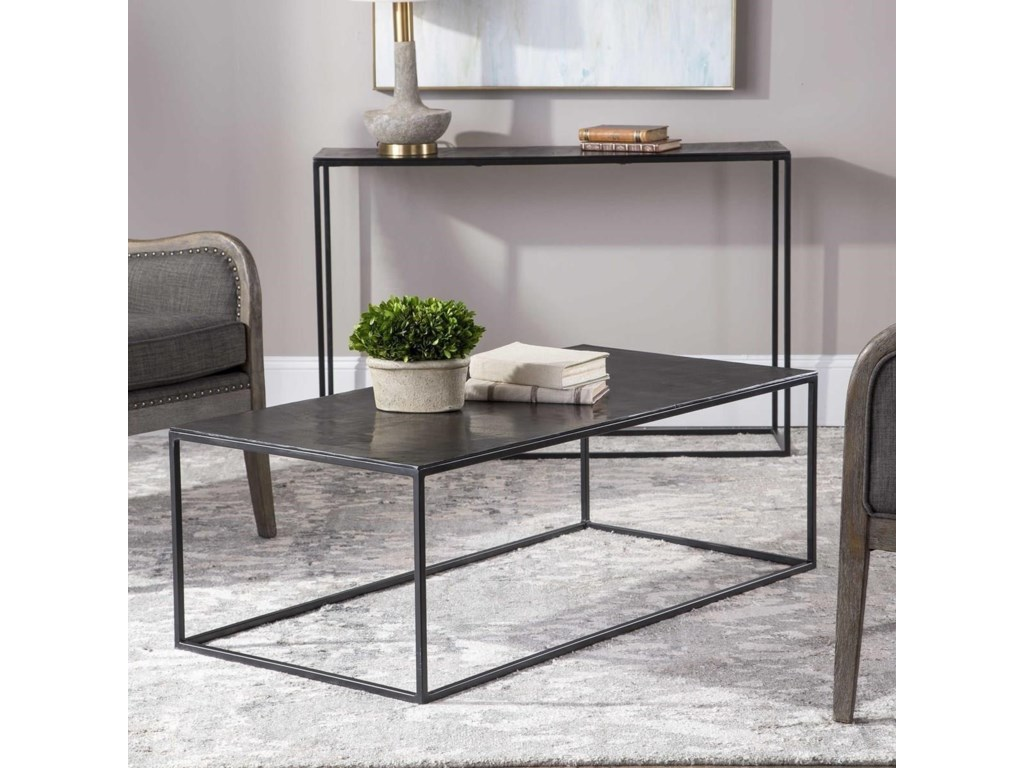 Uttermost Accent Furniture - Occasional TablesCoreene Industrial Coffee Table