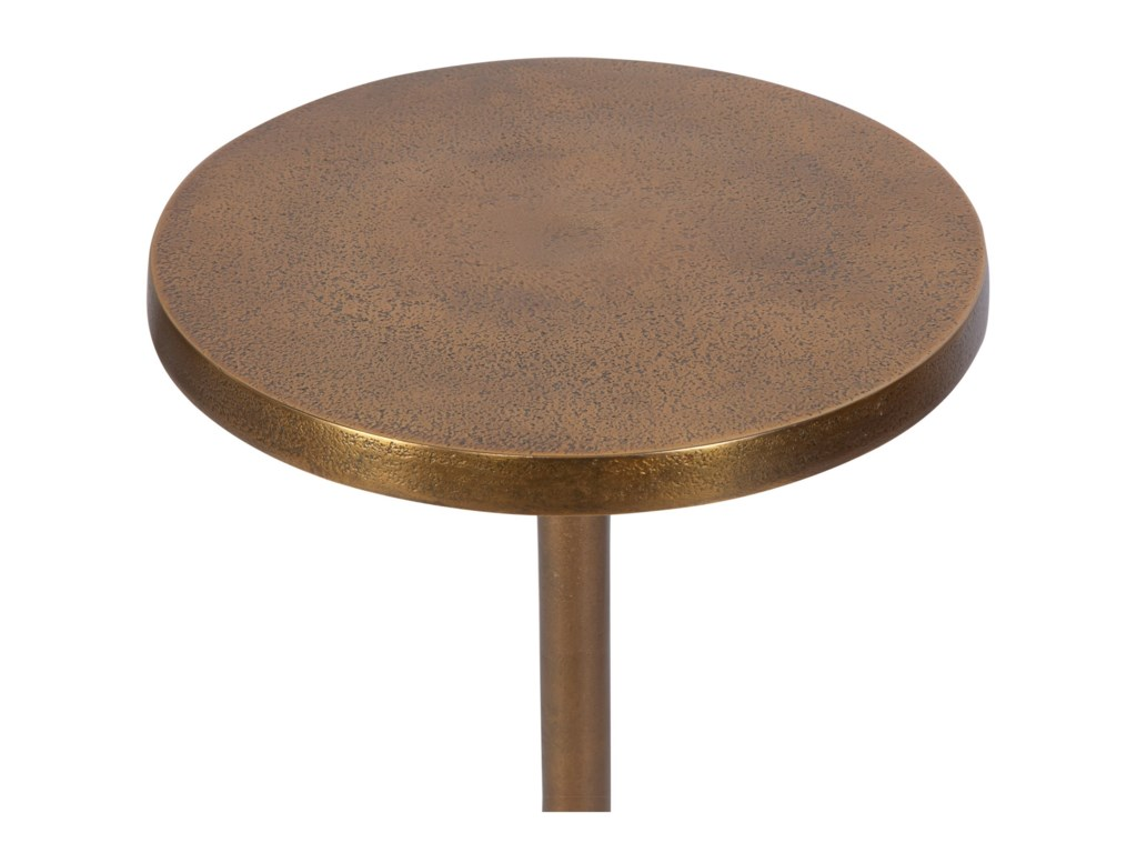 Uttermost Accent Furniture - Occasional TablesSanaga Drink Table Gold