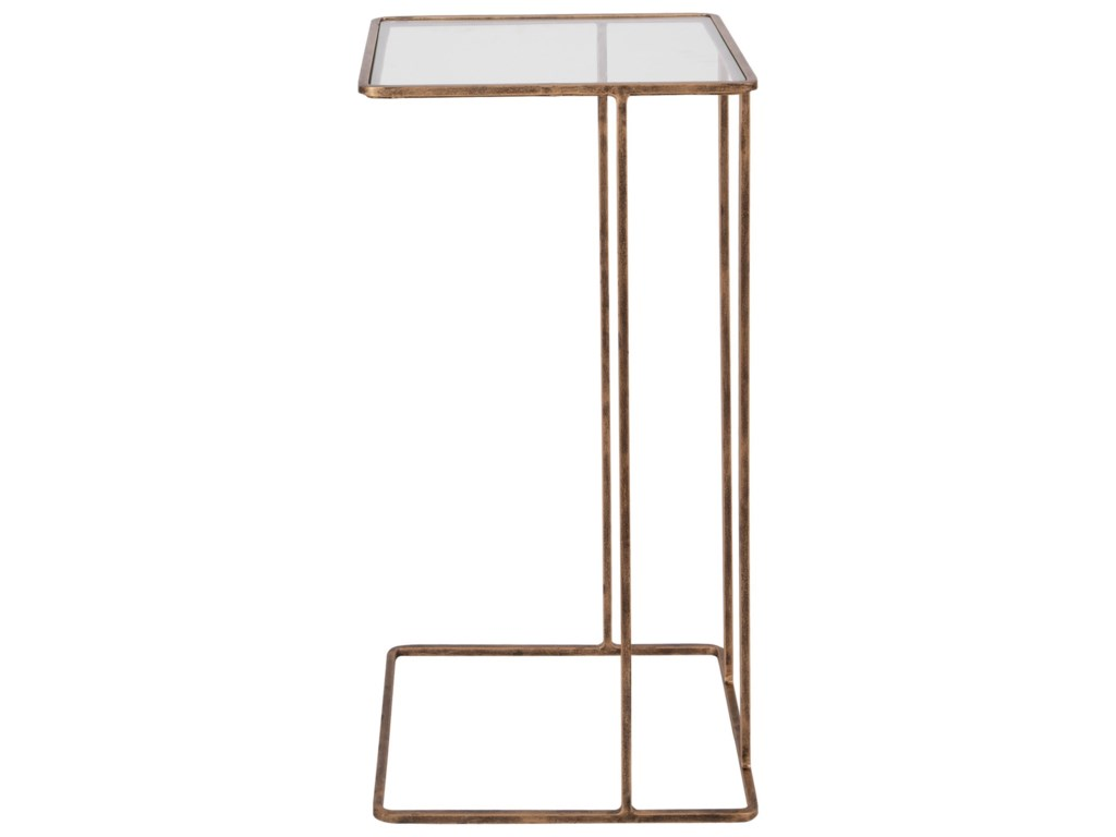 Uttermost Accent Furniture - Occasional TablesCadmus Gold Side Table