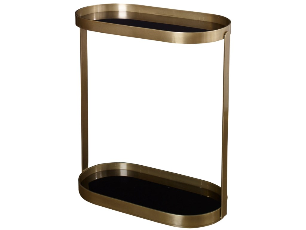 Uttermost Accent Furniture - Occasional TablesAdia Antique Gold Side Table