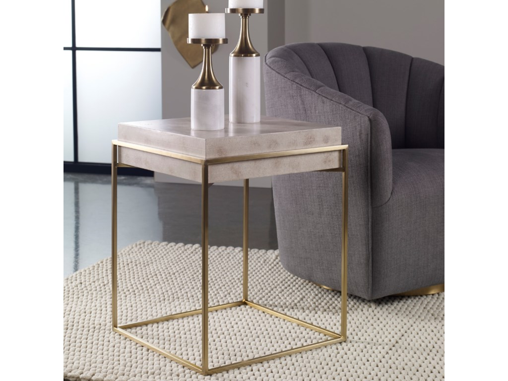 Uttermost Accent Furniture - Occasional TablesInda Modern Accent Table