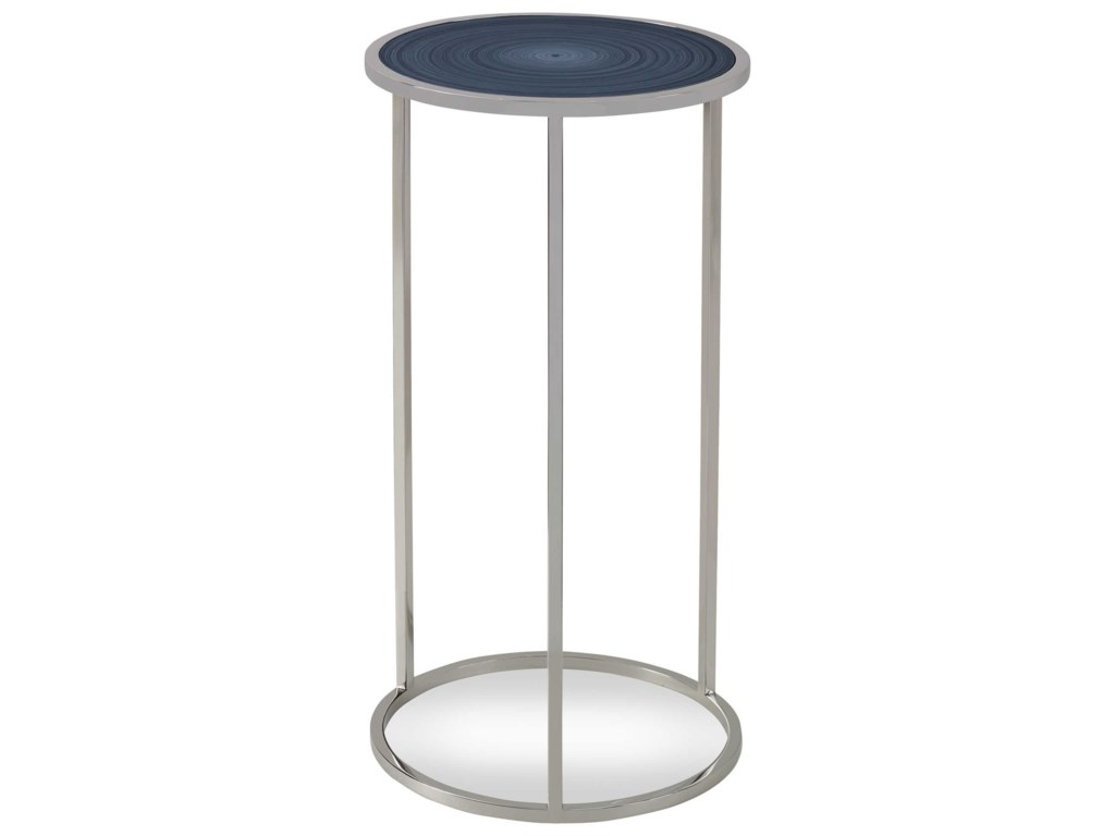Uttermost Accent Furniture - Occasional TablesWhirl Round Drink Table