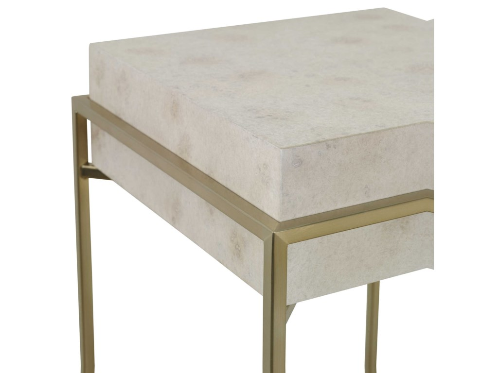Uttermost Accent Furniture - Occasional TablesInda Modern Ivory Plant Stand