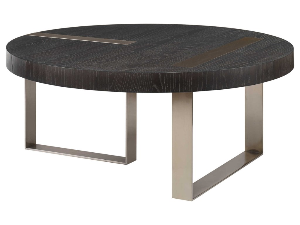 Uttermost Accent Furniture - Occasional TablesConverge Round Coffee Table