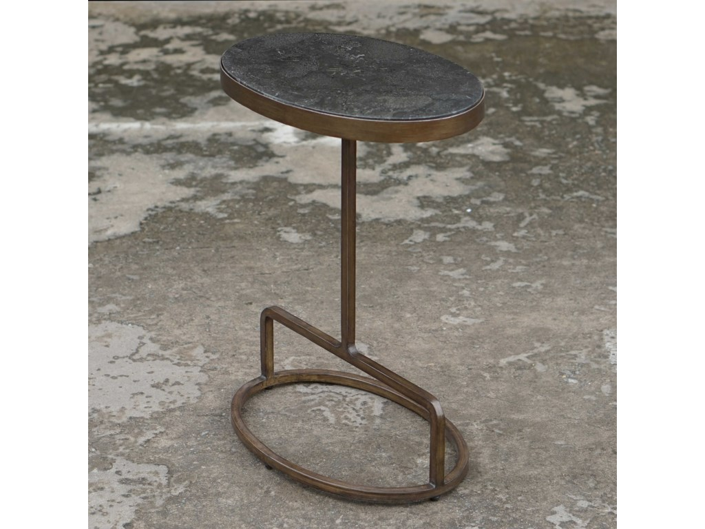 Uttermost Accent Furniture - Occasional TablesJessenia Stone Accent Table