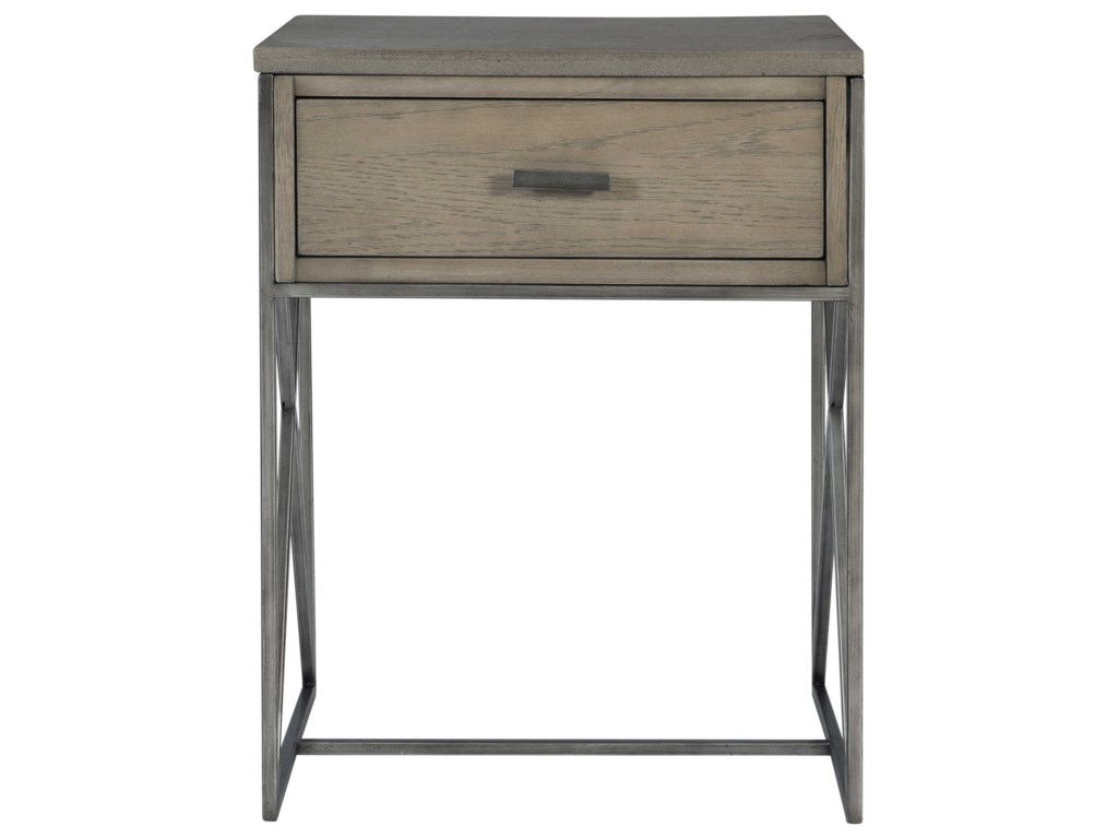 Uttermost Accent Furniture - Occasional TablesCartwright Gray Side Table