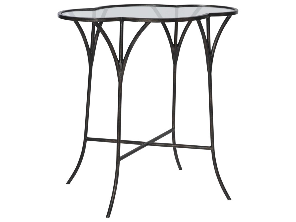 Uttermost Accent Furniture - Occasional TablesAdhira Glass Accent Table