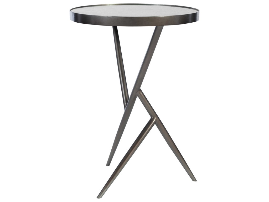 Uttermost Accent Furniture - Occasional TablesAbsalom Round Accent Table