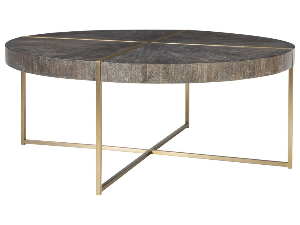 Uttermost Accent Furniture - Occasional TablesTaja Round Coffee Table