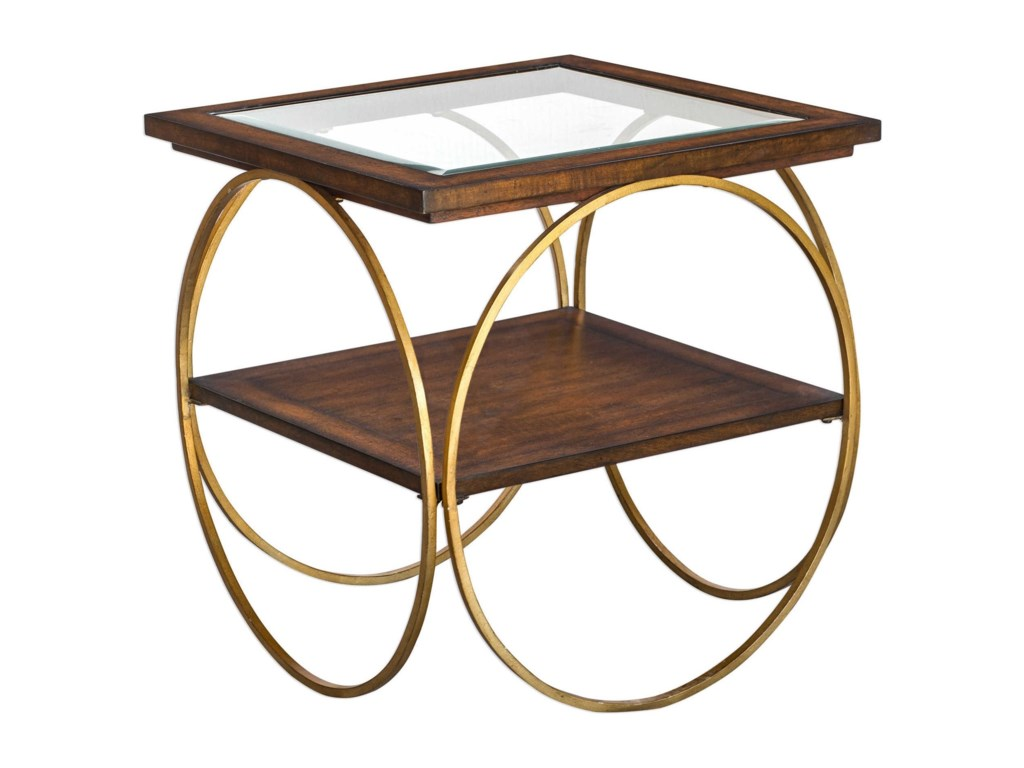Uttermost Accent Furniture - Occasional TablesCalissa Wood End Table