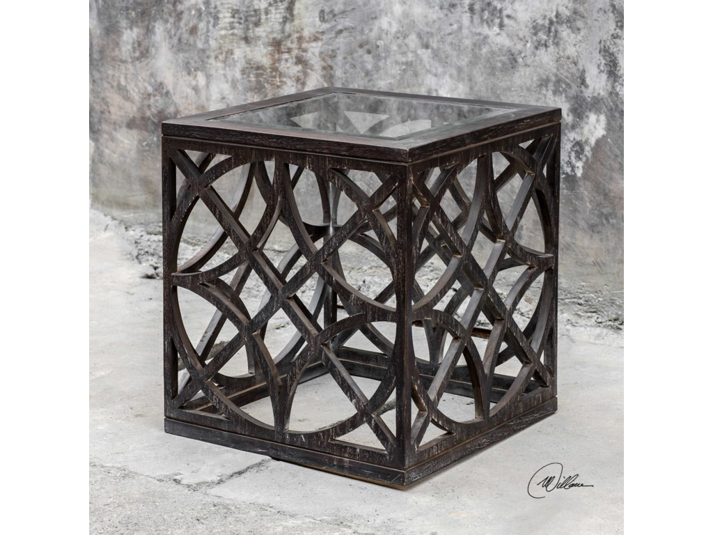 Uttermost Accent Furniture - Occasional TablesJaneva Side Table