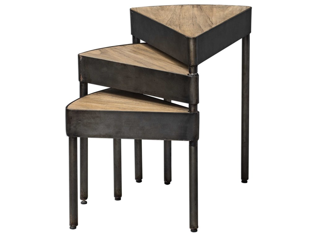 Uttermost Accent Furniture - Occasional TablesAkito Nesting Table