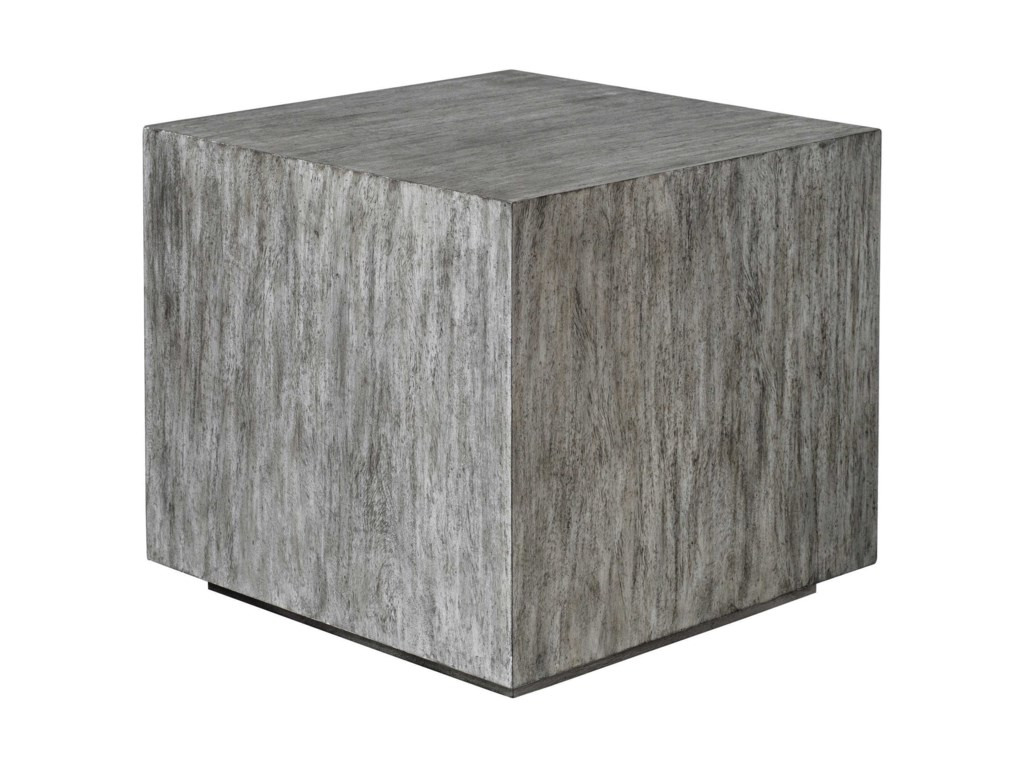 Uttermost Accent Furniture - Occasional TablesKareem Modern Gray Side Table