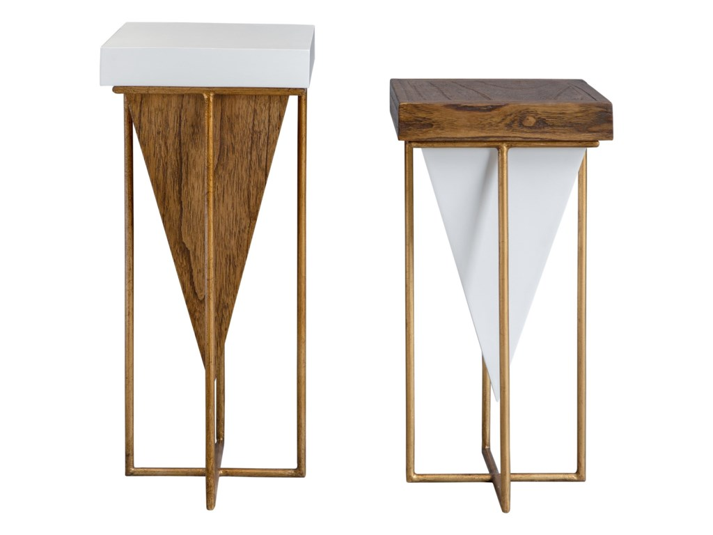 Uttermost Accent Furniture - Occasional TablesKanos Accent Tables S/2